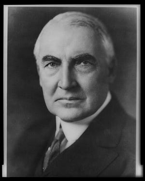 U.S. Sen. Warren G. Harding, representing Ohio, was the Republican candidate for president in 1920.