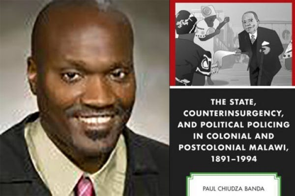 """Tarleton professor Dr. Paul Banda has published a new book, """"The State, Counterinsurgency, and Political Policing in Colonial and Postcolonial Malawi, 1891-1994,"""" that examines the history of the African nation."""