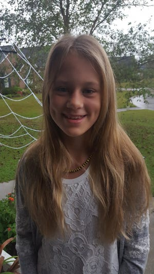 Maaike Shaw of Trask Middle School is New Hanover County's Student of the Week.