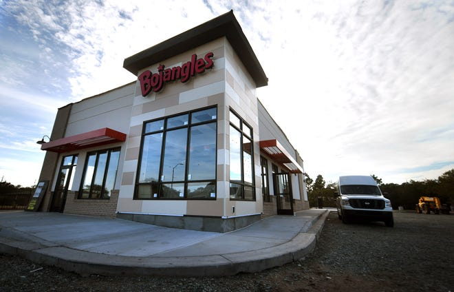 The new Bojangles is currently under construction at 1341 N Lake Park Blvd. in Carolina Beach on Wednesday. The restaurant will be its first on the island. [MATT BORN/STARNEWS]