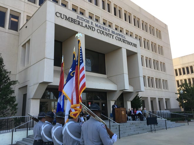 Starting Monday temperature checks will be required to enter the Judge E. Maurice Braswell Cumberland County Courthouse.