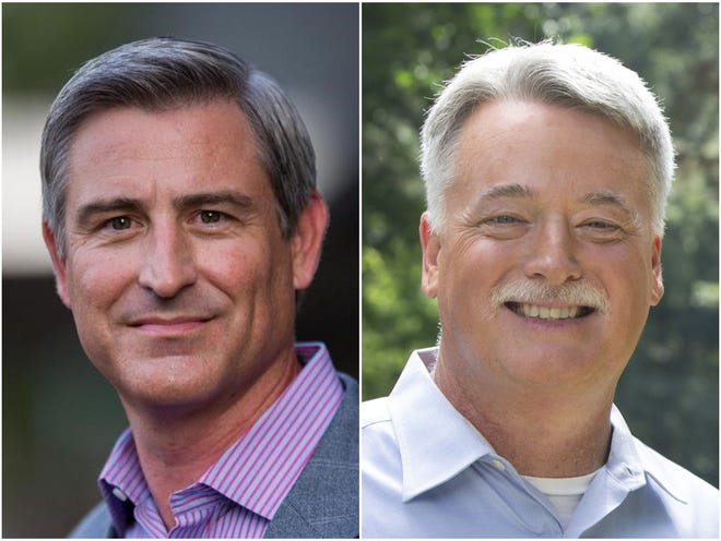 Democrat Kirk deViere and Republican Wesley Meredith and are running for the state Senate.