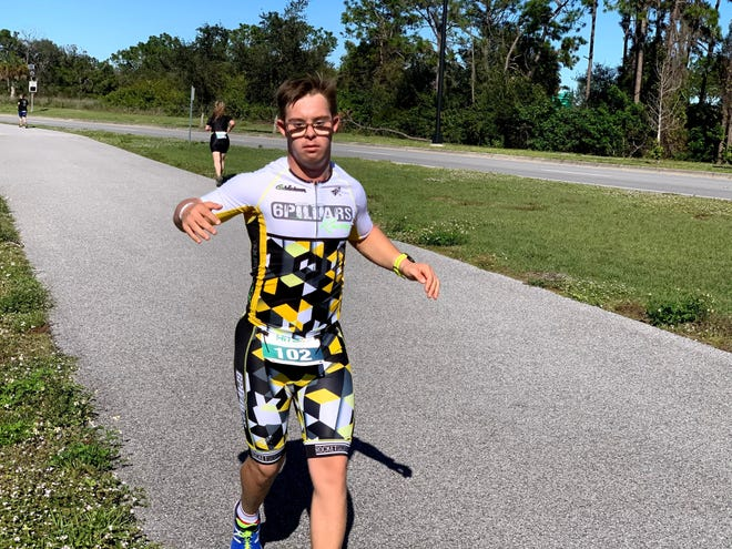 Chris Nikic will become the first person with Down Syndrome to compete in a full IRONMAN triathlon on Saturday at IRONMAN Florida in Panama City Beach. SPECIAL OLYMPICS FLORIDA PHOTO