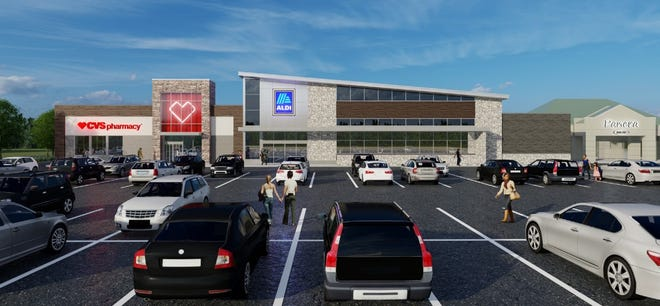 Aldi Inc. has submitted a proposal to build an 18,726-square-foot grocery at 3280 Tremont Road in the Kingsdale Shopping Center. The Upper Arlington Board of Zoning and Planning for is expected to vote on the proposal Nov. 16.