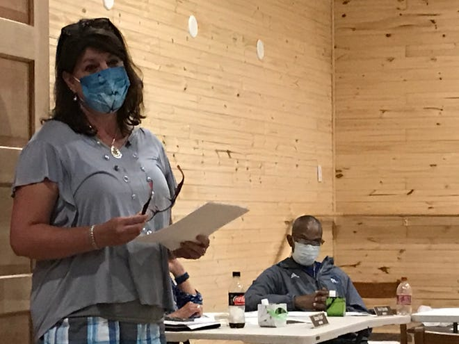 Madison County Health Director Tammy Cody updated the Madison County Board of Education on coronavirus cases at their Oct. 26 meeting.