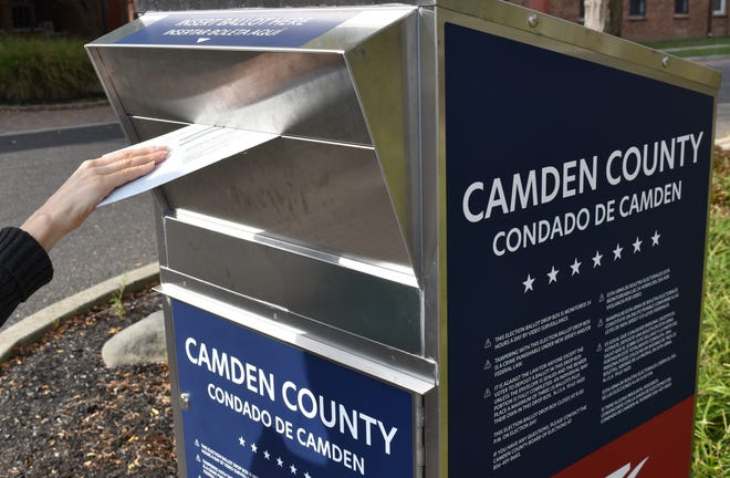 Registered Democrats have dominated early voting in Camden and Gloucester counties.