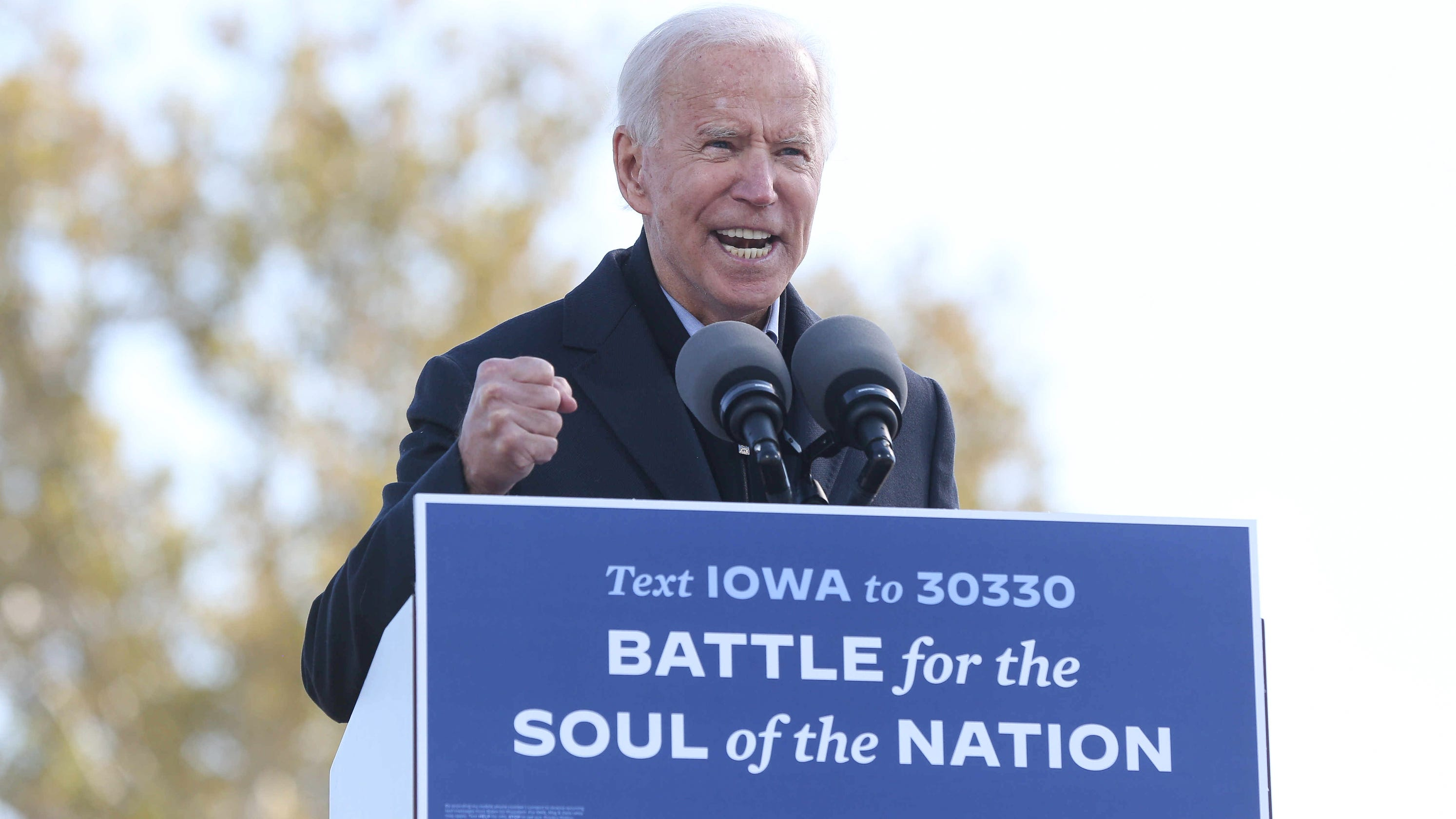 Fact-checking Joe Biden's Iowa speech: Claims on Supreme Court, Social Security