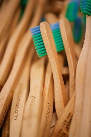 WooBamboo! in Cape Coral produces an assortment of eco-friendly oral care products including their original bamboo toothbrush.