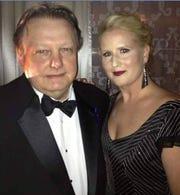 David Boothman and his wife Sue Strickfaden.