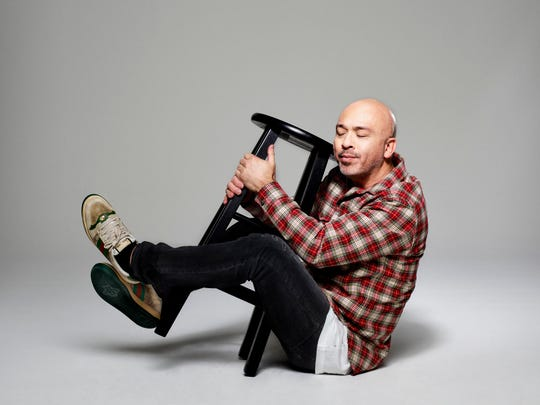"Comedian Jo Koy in a promotional image for his 2020 ""The Social Distance Comedy Tour."""