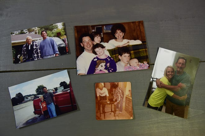 Memories and photos are all that's left of John Brooks for his family to remember.