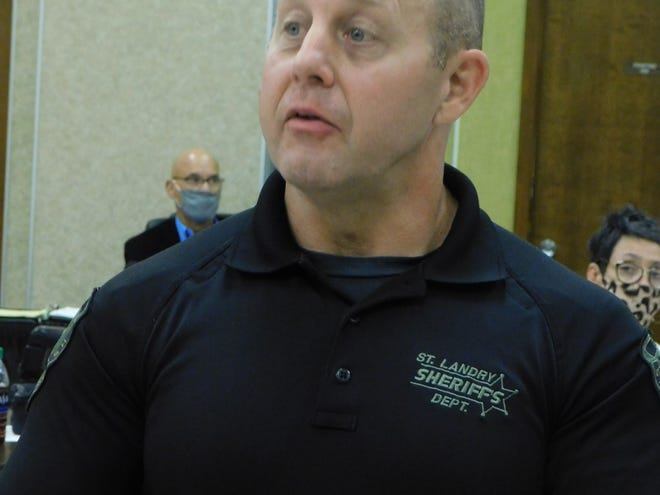St. Landry Parish Sheriff's deputy Sgt. Neil Whatley  requested on Tuesday that the parish school district allow Southwest Elementary, now vacant, to be used as a training facility for officers reacting to active-shooter situations and learning suspect de-escalation.