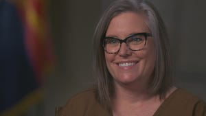 "Arizona Secretary of State Katie Hobbs talks to ""60 Minutes"" about Arizona elections."