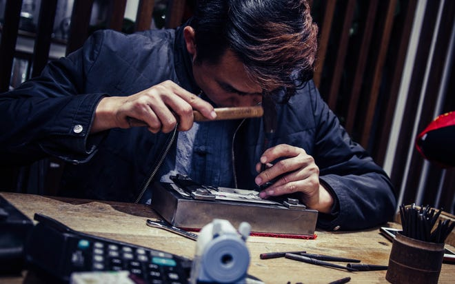 Jewelers repair all sorts of items for customers.