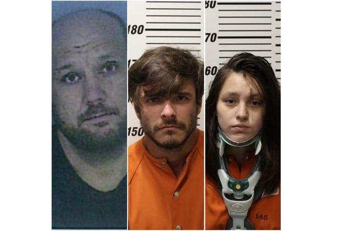 Michael Stauffer, Riley Collier and Patricia Davis.