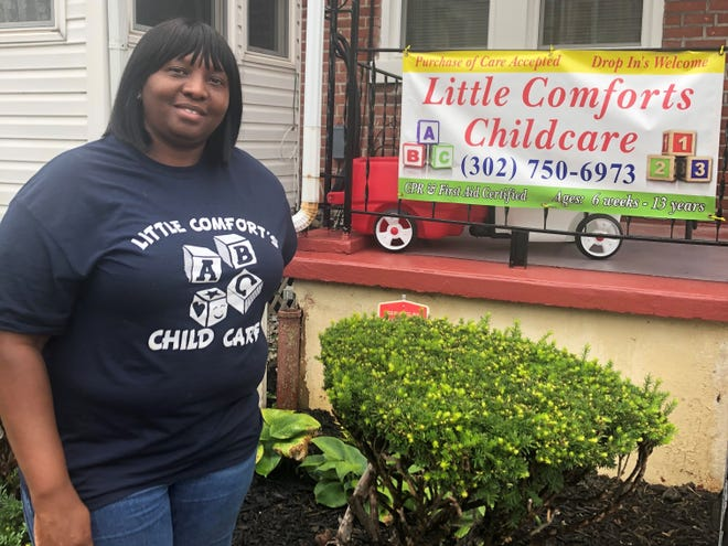 Tina Thomas is the owner of Little Comforts Child Care.