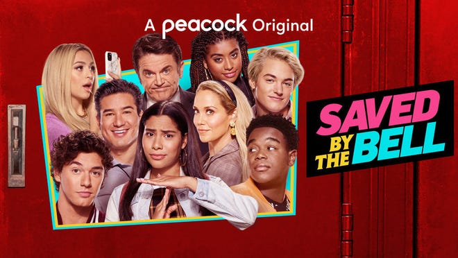 """The """"Saved by the Bell"""" reboot reunites stars of the original (including Mario Lopez and Elizabeth Berkley) and introduces a new Bayside principal played by John Michael Higgins. Josie Totah, Alycia Pascual-Pena, Belmont Cameli, Mitchell Hoog, Belmont Cameli, Haskiri Velazquez and Dexter Darden also star."""