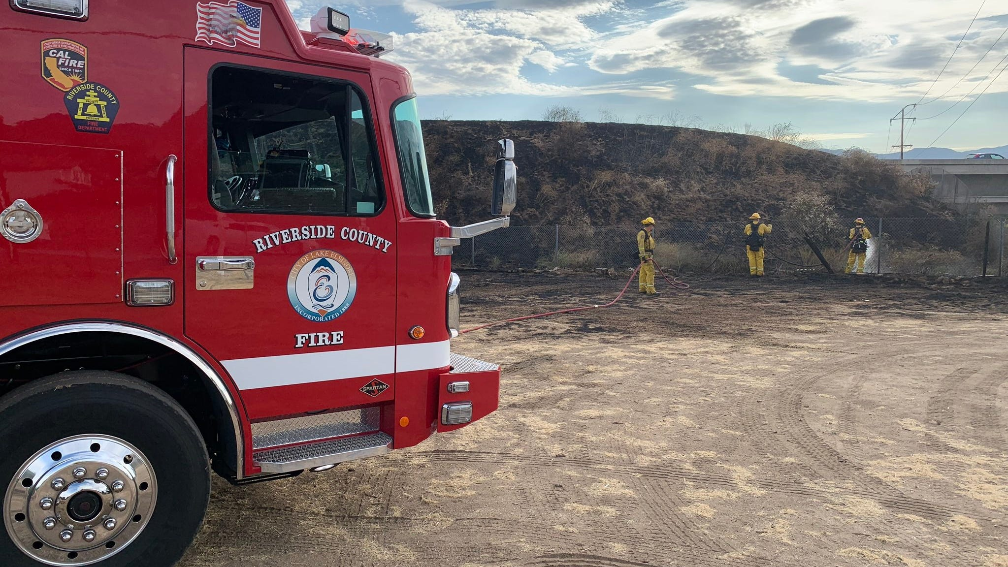 Seven Cal Fire firefighters from Riverside County have tested positive for COVID-19, as of Oct. 30, 2020.