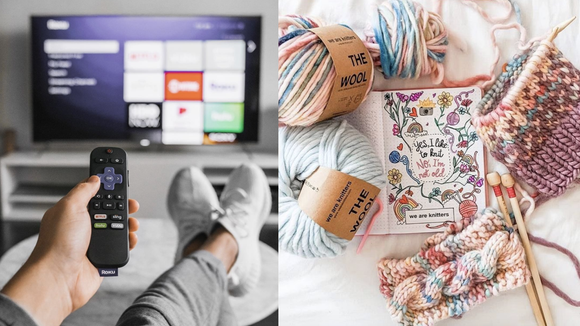 50 things to keep yourself entertained when you're stuck at home