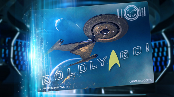 CBS All Access has the rights to Star Trek content.