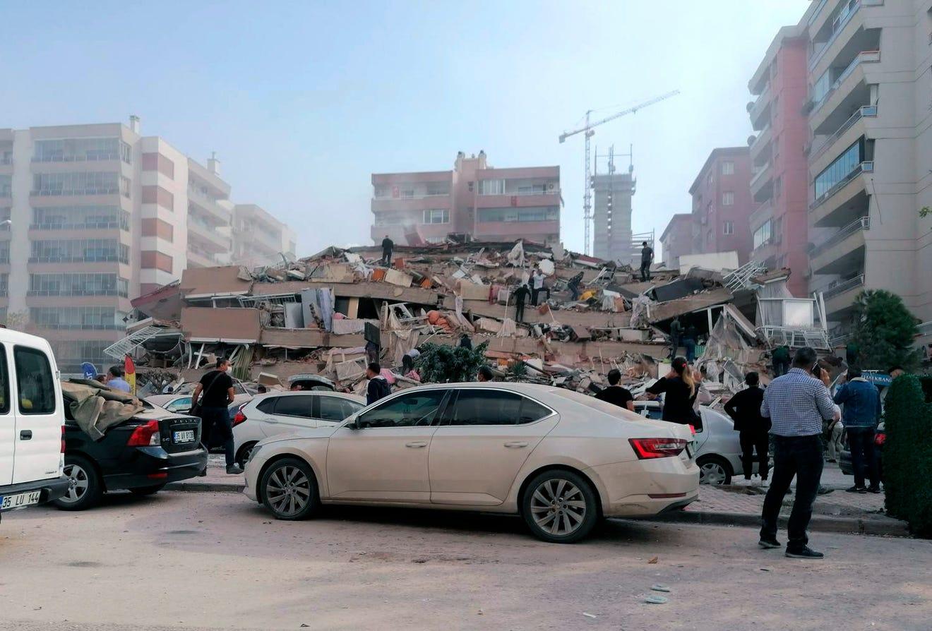 7.0 earthquake in Turkey, Greece