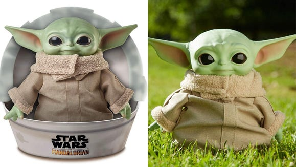 This toy is perfect for the 'Star Wars' lover in your life.
