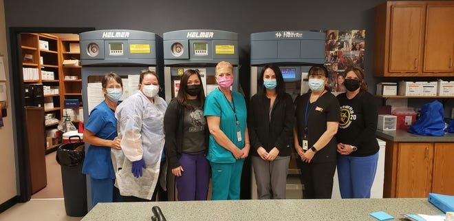 The nursing staff at the Carter County Health Department have been working diligently since the pandemic hit in March.