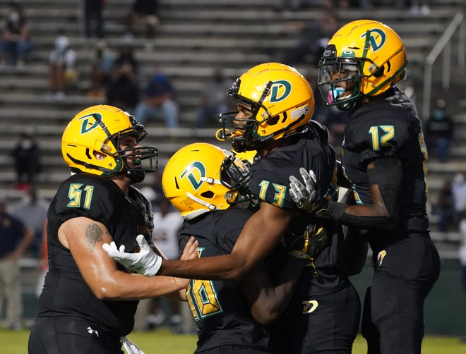 DeLand's scheduled home playoff game with University will proceed at 7:30 p.m. Friday with Tropical Storm Eta expected to miss the Volusia-Flagler area.