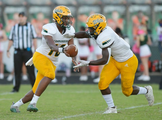White faces Bishop Kenny in an FHSAA play-in contest on Thursday.