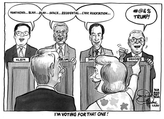 Cartoon for Feb. 6, 2000