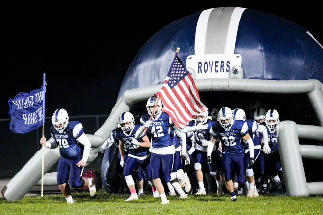 Rootstown Rovers take the field on October 30, 2020, in Rootstown.