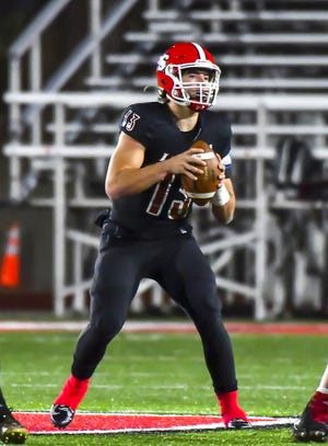 La Salle quarterback Zach Branam is the Enquirer's Division II offensive football player of the year.