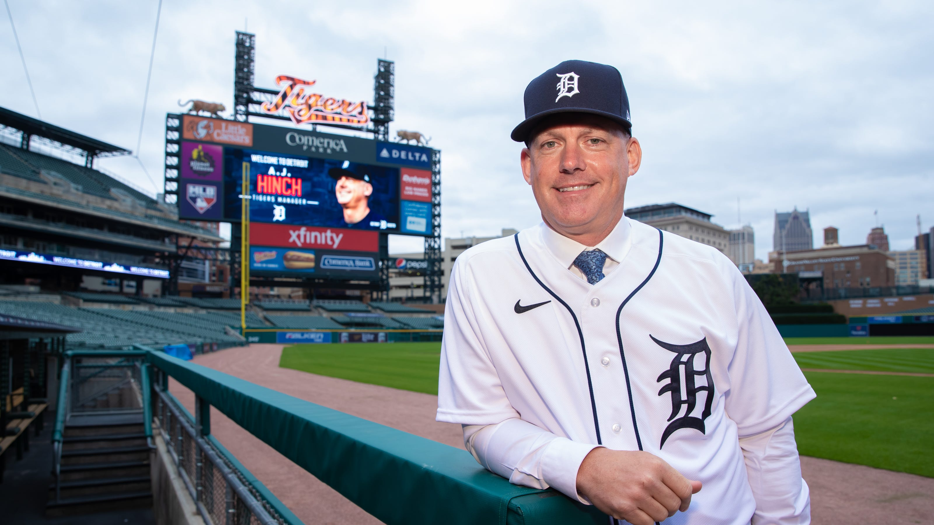 A.J. Hinch is Detroit Tigers' Scotty Bowman: Hired to win championship