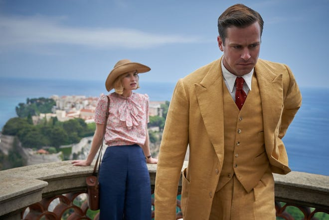 """Armie Hammer and Lily James star in Netflix's """"Rebecca."""""""