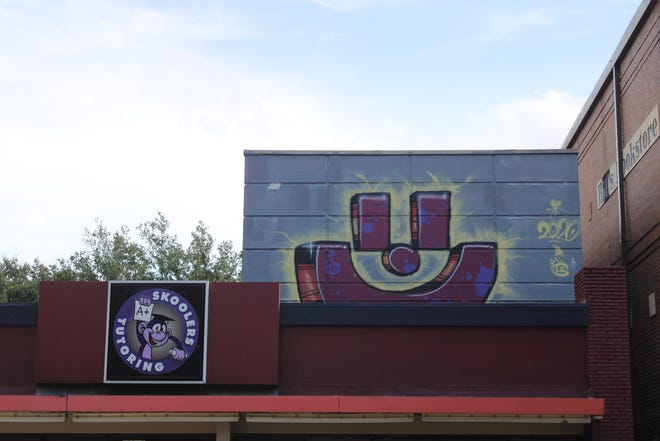 This smiley face is just one of many in Tallahassee.