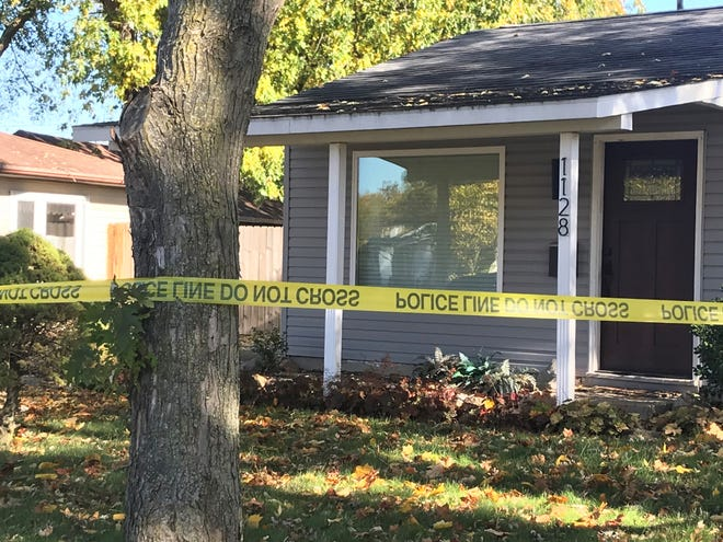 Marc Sherwood died late Thursday inside his home in the 1100 block of Rochelle Drive from multiple stab wounds.