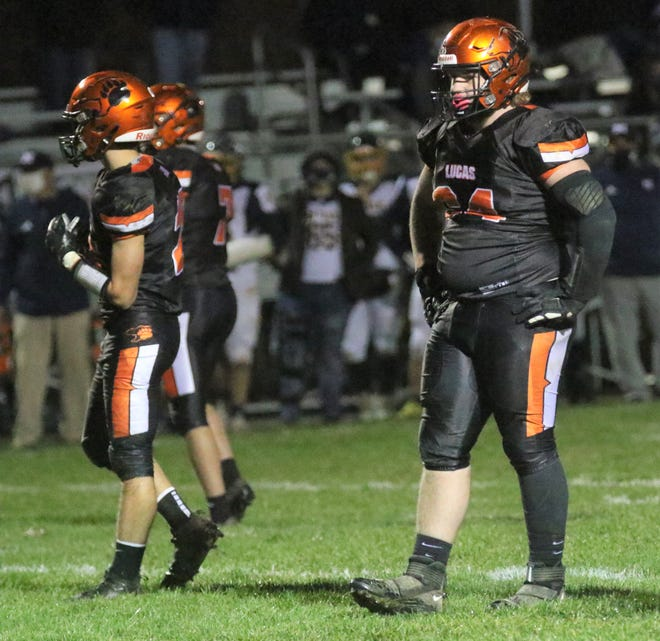 Lucas' Tucker Nolen was named first team All-Ohio in Division VII on Monday afternoon.