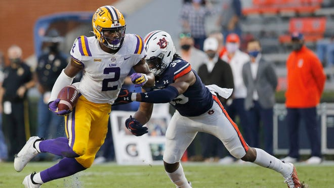LSU vs. No. 6 Texas A&M Aggies football betting odds, point spread