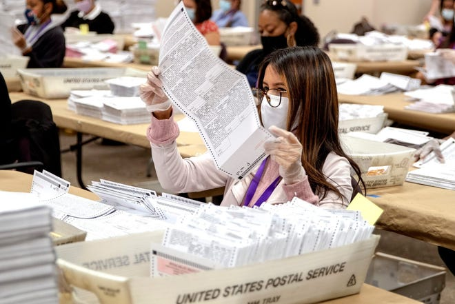 Record numbers of California voters cast their votes via mail-in ballots during the 2020 election.