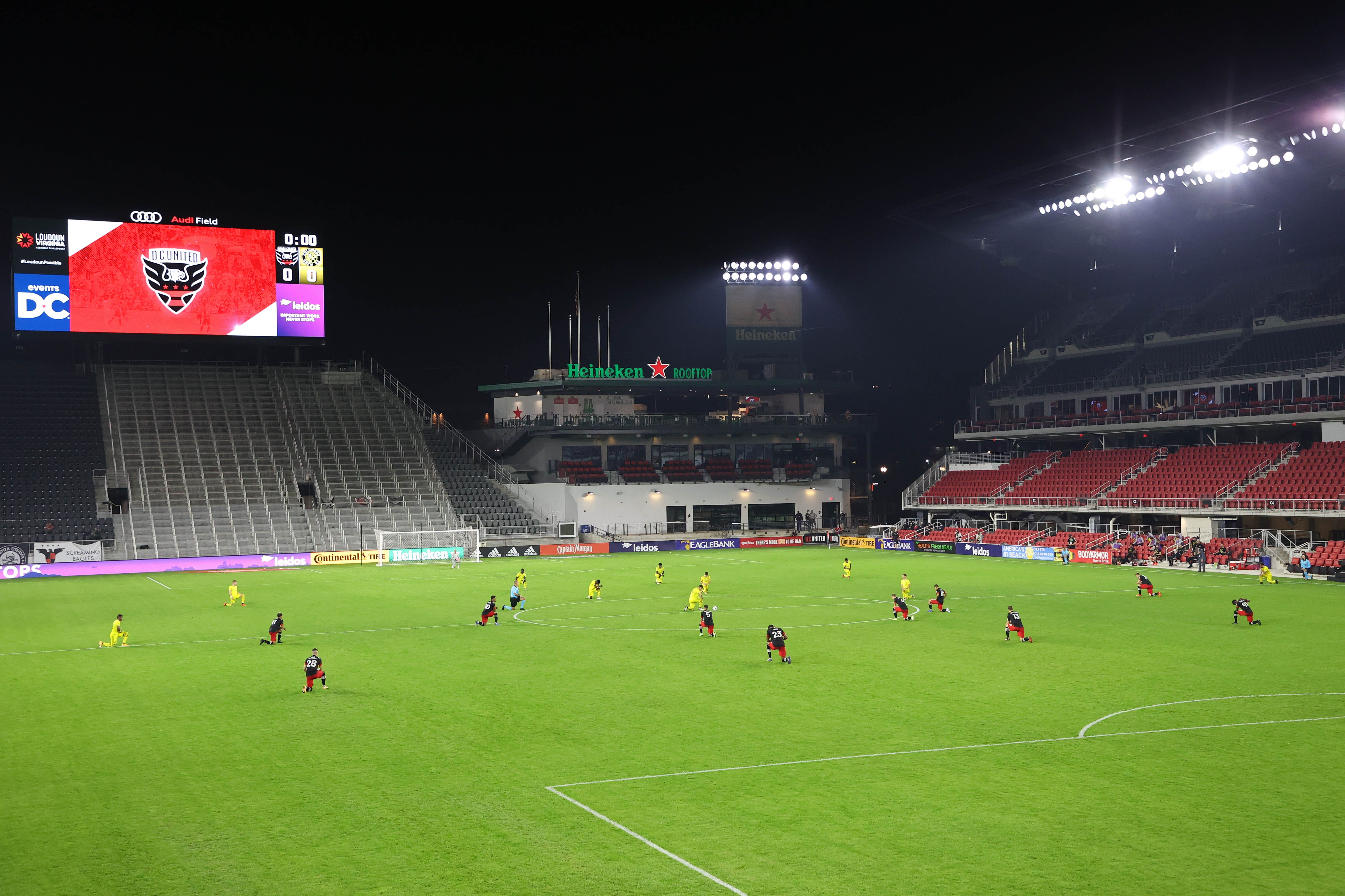 D.C. United asked employees to work overnight security at MLS stadium