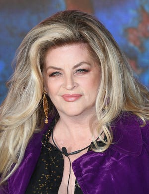 Kirstie Alley enters the Celebrity Big Brother house at Elstree Studios on August 16, 2018 in Borehamwood, England.