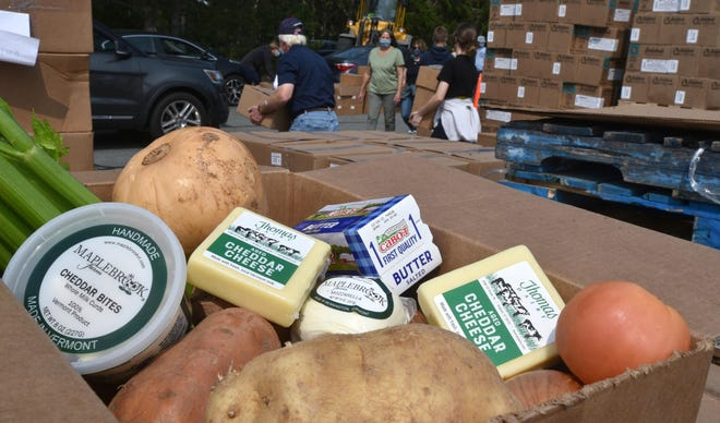 More than $530,000 in state grants have been awarded to local organizations on the Cape and Islands to increase food access to residents in need.