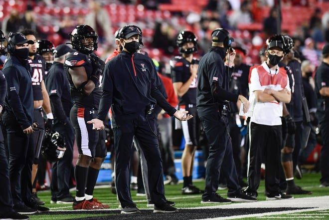 Texas Tech coach Matt Wells has tested positive for COVID-19, the Tech athletics department said Thursday. Wells is self-isolating, and if he can't be present for Tech's game Saturday against Kansas, defensive coordinator Keith Patterson would fill the head coach's role.