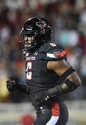 Texas Tech linebacker Riko Jeffers announced Monday he will stay with the program for a second senior year. Jeffers was credited with 58 tackles this season, including team highs of 8 1/2 tackles for loss and seven quarterback pressures.