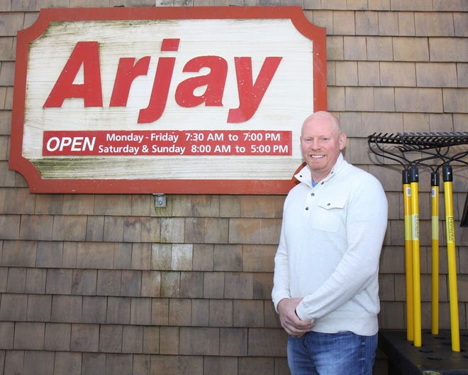 Dan Jackson of Arjay Ace Hardware in Exeter has donated two spectacular pre-lit artificial trees to benefit this year's Festival of Trees online fundraising campaign.