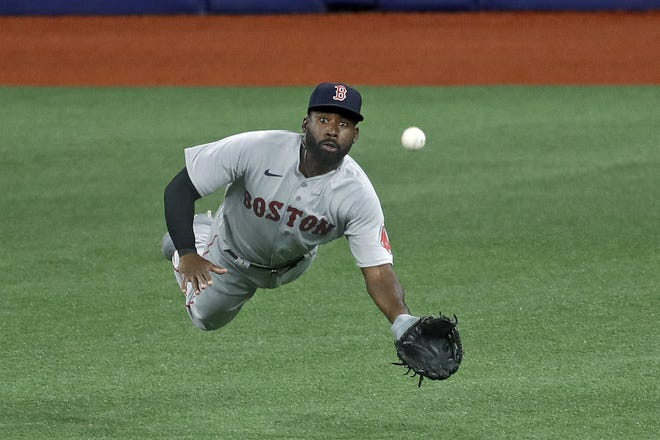 Jackie Bradley Jr.'s time in Boston is officially over as the free agent outfielder agree to a two-year, $24-million deal with the Milwaukee Brewers on Thursday, March 4, 2021.