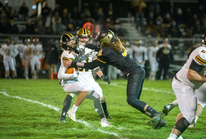 Colonel Crawford's Chase Walker earned his third Player of the Year nod having already been named Northern 10 Defensive Player of the Year and D-VI NW District co-Defensive Player of the Year.