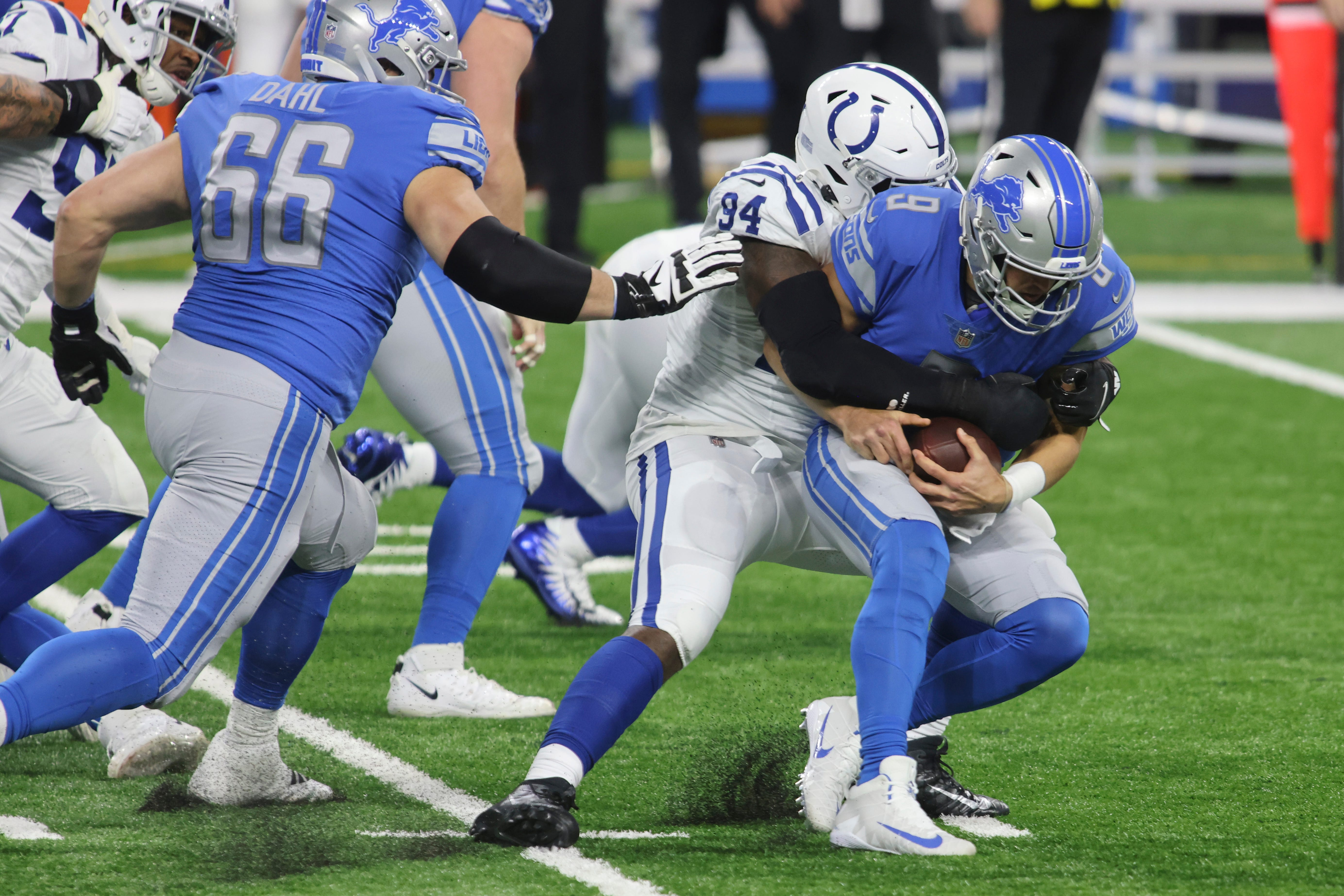 Detroit Lions show in loss to Colts that they're going nowhere