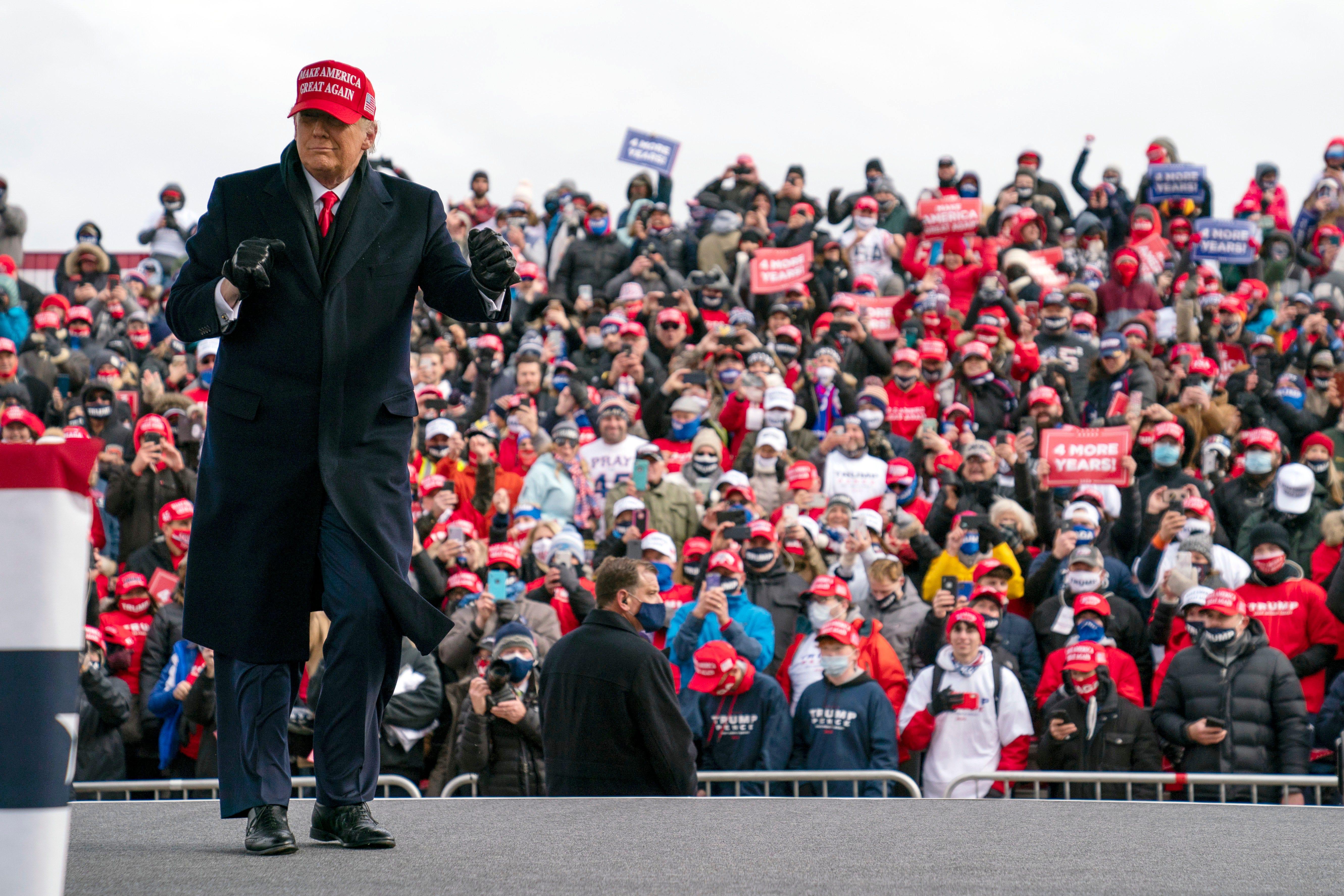 Trump zieht die Bundesklage in Michigan unter Berufung auf die Werber von Wayne Co. zurück