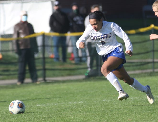 Ontario's Kyla Spencer was a first team All-Ohio selection in Division II.